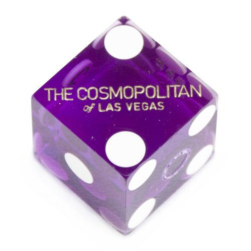 Pair (2) of Official 19mm Casino Dice Used at The Cosmopolitan Casino by Brybelly