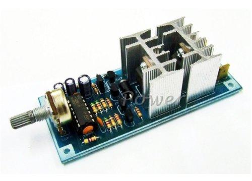 MXA066: DC MOTOR HHO/ PWM SPEED CONTROL 30A MAX 12V / 24V 100 Hz ASSEMBLED KIT (FREE SHIP REGISTER AIRMAIL)