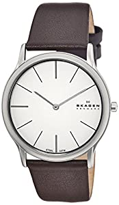 Skagen Men's 858XLSLD Steel Super Slim Brown Watch