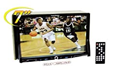 See Performance Teknique ICBM-9706 7-In TFT Touch Screen,Double Din,Dvd Player with front USB and Sd card Slot Details