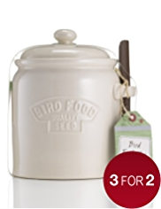 Bird Feed Jar with Scoop