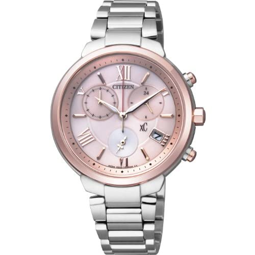 [シチズン]CITIZEN 腕時計 xC クロスシー TITANIAライン Eco-Drive エコ・ドライブ クロノグラフ FB1334-54W レディース