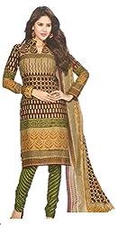 Sanjeeban Fashion Studio Women's Cotton Dress Material (FE_65_Multi-Coloured_Free Size)