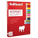 Bullguard Internet Security Anti-Virus 3 Users, 100MB Online Backup by Bullguard