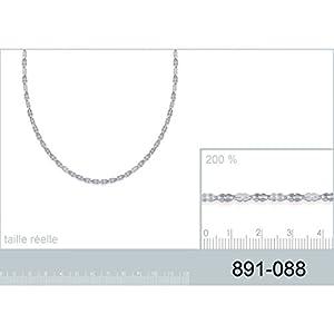 Collier en Argent 925/000 - Chaîne Forme Originale - Bijoux Femme