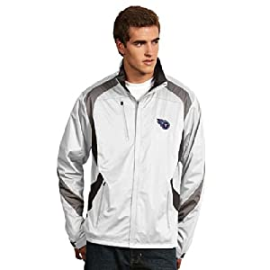 Tennessee Titans Tempest Jacket (White) by Antigua
