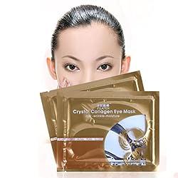 7 Pair Collagen Anti-Wrinkle Dark Circle Gel Under Eye Patches Pad Peel Off Mask