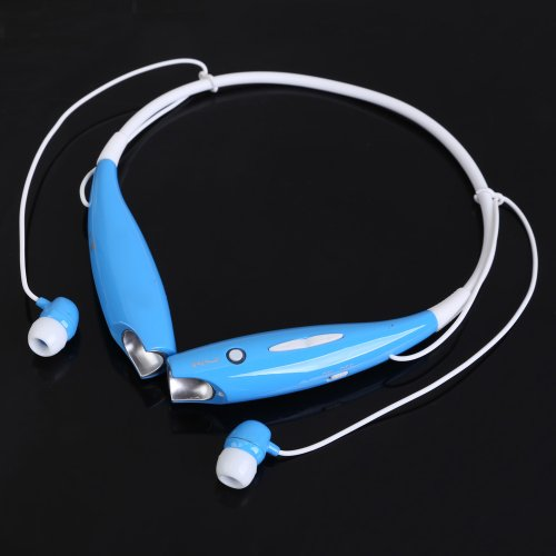 Vktech Hv-800 Bluetooth A2Dp Stereo Headset Headphone For Mobile Phone (Blue)