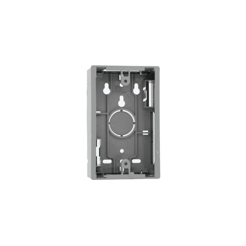 1.45 Inches Dual Gang Leviton 42777-2WB Surface Mount Backbox White
