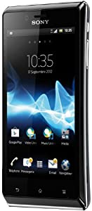 Sony Mobile Xperia J  Smartphone Android GSM / HSPA Bluetooth WiFi 4 Go Noir