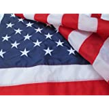 American Flag - Top Rated Premium Made In USA 3x5 Nylon US Flags - Indoor/Outdoor - Withstands Tough Weather and Wind