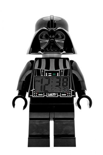 LEGO-Kids-9002113-Star-Wars-Darth-Vader-Mini-Figure-Light-Up-Alarm-Clock-95-Inches-Tall