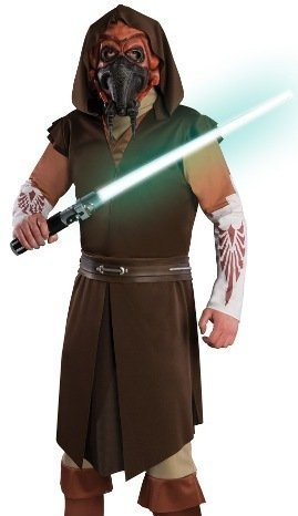 Mens Halloween Costume Plo Koon Star Wars Clone