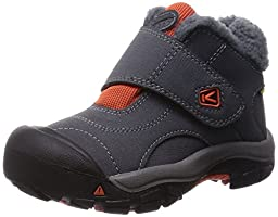 KEEN Kootenay WP Winter Boot (Toddler/Little Kid), Magnet/Koi, 8 M US Toddler