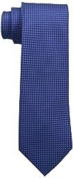 Calvin Klein Men\'s HC Modern Gingham Tie, Sky Blue, One Size