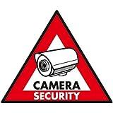 "König 5 autocollants ""camera security"" 123x148 mm"