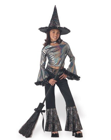 California Costume Child Hip Witch Costume (Broom Not Included)