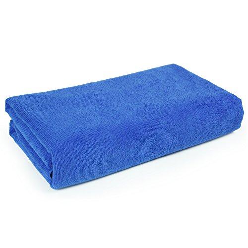 Belmalia-Mikrofaser-Badetuch-XXL-sehr-saugfhig-180-x-75-cm-Strandtuch-Badetuch-Sauna-Microfaser-Tuch-blau