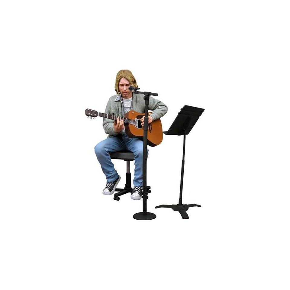 Kurt Cobain (Nirvana) Unplugged 7 Inch Action Figure