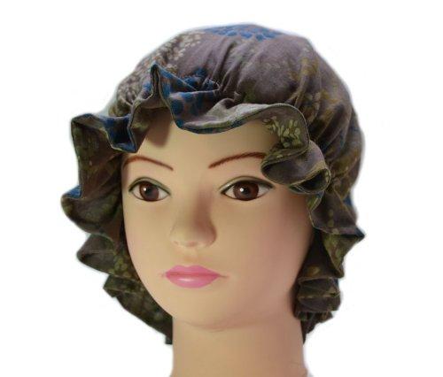 ナイトキャップ 日本製 コットン100% ルームキャップ 室内帽子 高級 綿 帽子 おしゃれ デザイン ねぐせ 寝癖