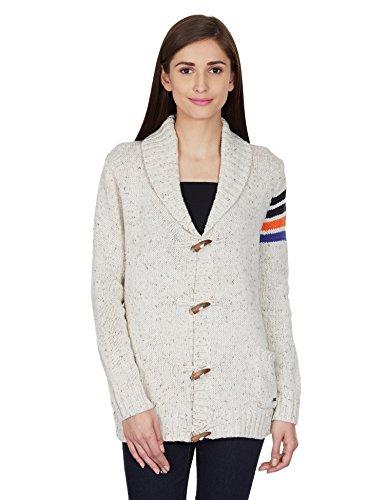 Roxy Women's Sweater (ERJSW03061_Sea Spray_L)