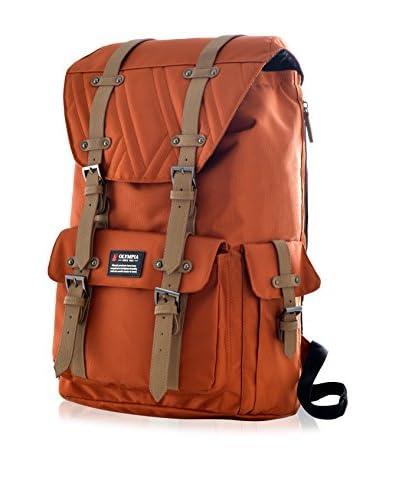 Olympia Hopkins 18-Inch Backpack, Sienna