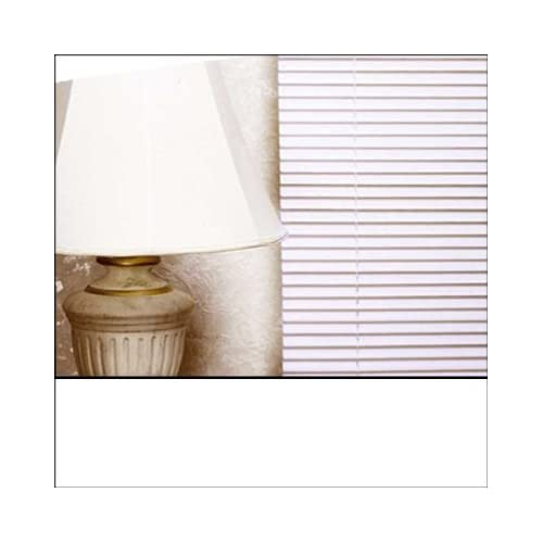 EASYFIT WHITE PVC Venetian blind * AVAILABLE IN WIDTHS 45 cm to 210cm * BLINDS ALSO AVAILABLE IN CREAM AND BLACK...