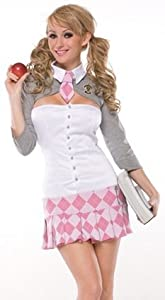 Prep School Girl Adult Costume (Medium/Large)