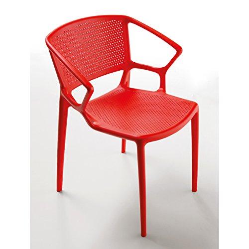 infiniti-fiorellina-armlehnstuhl-perforiert-rot-sitz-und-ruckenflache-perforiert