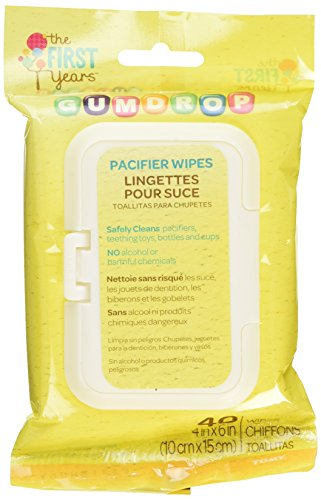 The First Years Gumdrop Soother Wipes