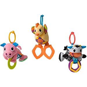 Infantino Barn Babies Teether Toy