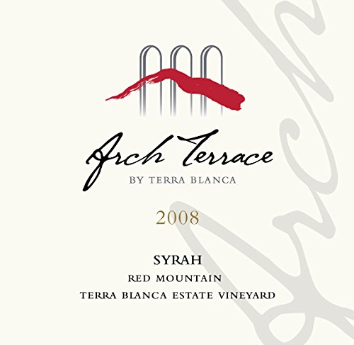 2008 Terra Blanca Arch Terrace Red Mountain Syrah 750 Ml
