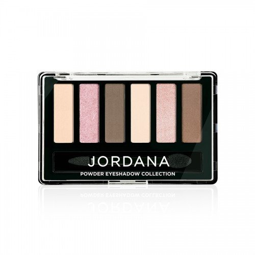 (6 Pack) JORDANA Made To Last Powder Eyeshadow Collection - Newds