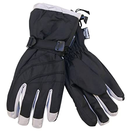 Keep your hands warm and dry when you're on the slopes or just playing outside in the snow. These gloves have all the features you need -- waterproof and 40-gram Thinsulate lining.