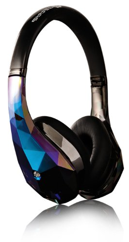 Monster Diamond Tears Edge On-Ear Headphones (Black) Black Friday & Cyber Monday