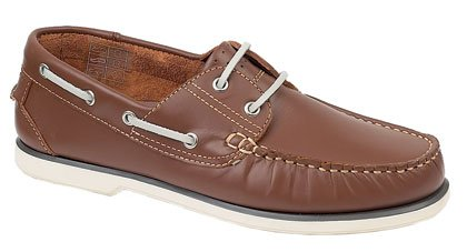 BRAND NEW DESIGN BOAT SHOE BROWN 10