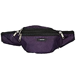 Aoking Purple Waist Pouch Belt Multipupose