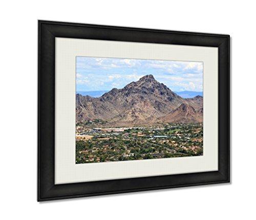 Ashley Framed Prints, Piestewa Peak, Black, 24x30 Art (Piestewa Peak compare prices)