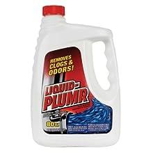 Liquid-Plumr 00229 Drain Opener, 80 fl oz Bottle