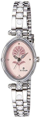 Titan-Pink-Dial-Metal-Watch-For-Women-2419SM01