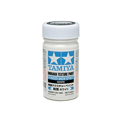 Tamiya Diorama Texture Paint (Powder Snow Effect) - 1