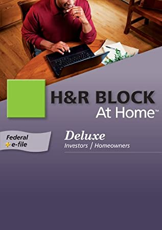 H&R Block At Home 2009 Deluxe Federal + eFile [Formerly TaxCut] [Download]