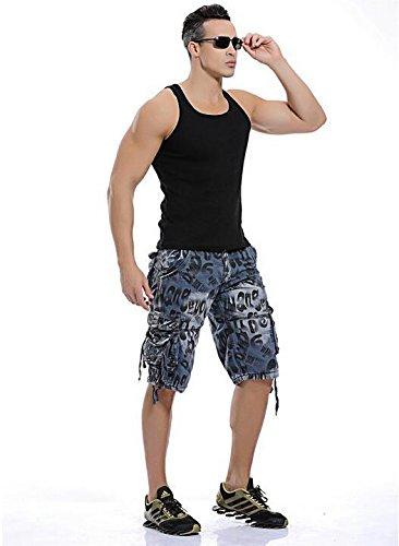 GG Relaxed casual Camo shorts. taglia uomo tasca cinque divisione con pantaloni, LANLAN-38