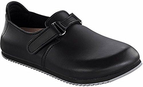 Birkenstock Professional Men'S Linz Super Grip Leather Slip Resistant Work Shoe,Black,38 Eu/7-7.5 M Us