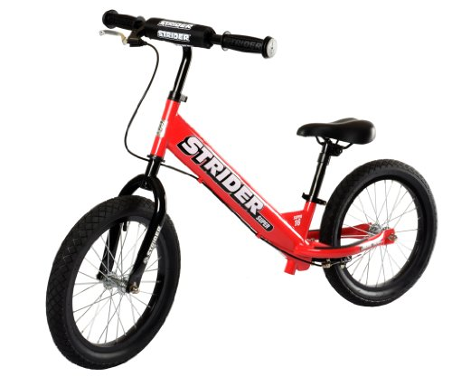Best Kids Balance Bike for Sale - Red STRIDER SUPER 16 SS-1 Bike, No-Pedal Boys and Girls Balance Bike For Ages 6 To 10 Years Old