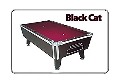 Valley Pool Table 101in - Black Cat