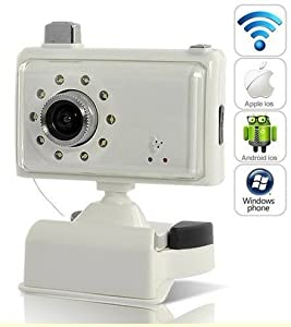 New Wireless Security Camera Mini Wifi Spy Baby Monitor Smart Phone Ip Cam Pc