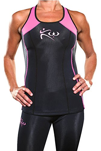 Women's- Kutting Weight (Cutting Weight) Neoprene Weight Loss Sauna Tank Top (Medium)