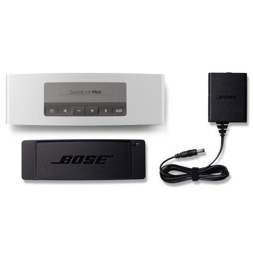 Bose SoundLink Mini ポータブルワイヤレススピーカー Bluetooth対応 シルバー SLink Mini