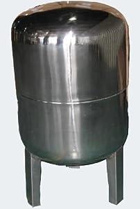 50L Edelstahl Ausdehnungsgefäß für Hauswasserwerke und Druckerhöhungsanlagen mit EPDM Membran  BaumarktKritiken und weitere Informationen